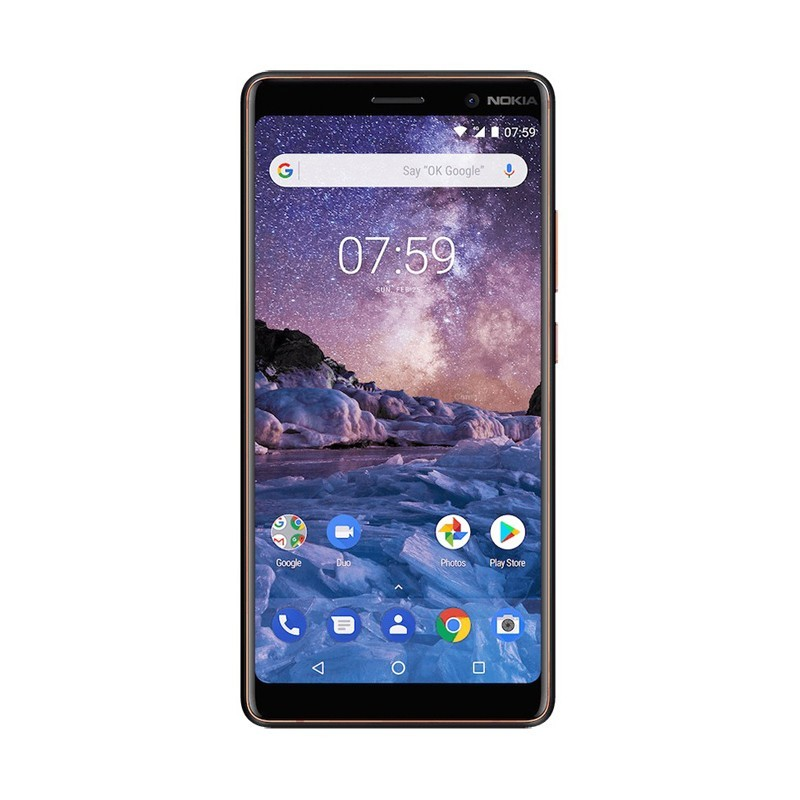 گوشی موبایل نوکیا مدل Nokia 7 Plus دو سیم کارت ظرفیت 64 گیگابایت