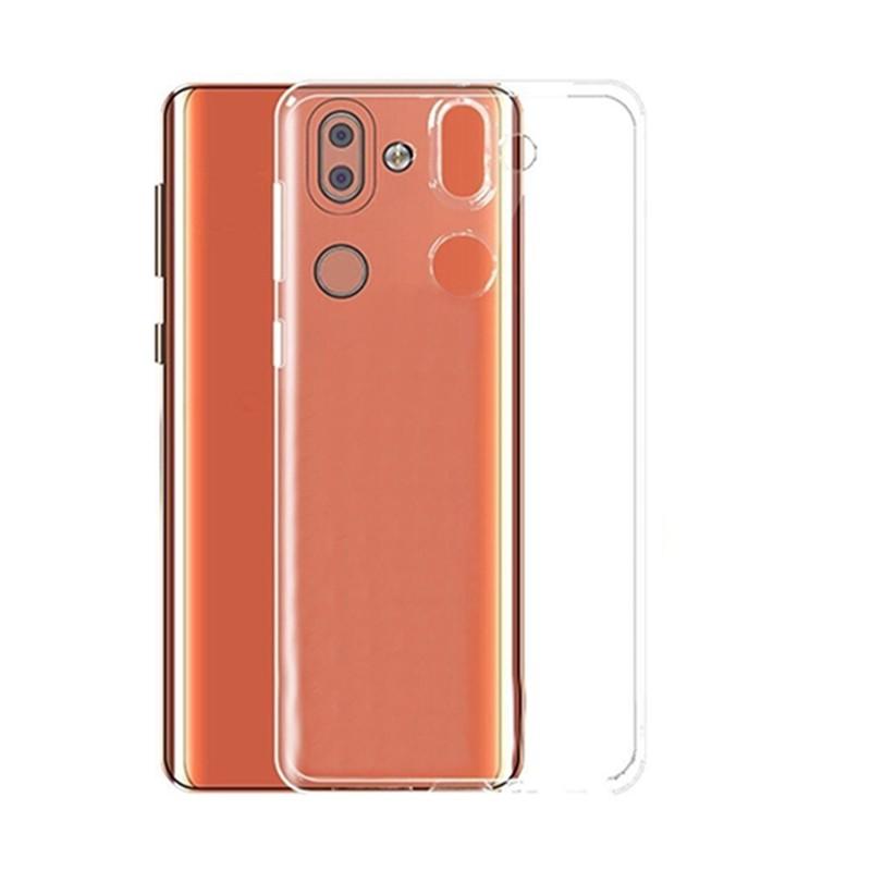 کاور ژله ای مدل Soft Gel Clear برای گوشی موبایل Nokia 8 Sirocco