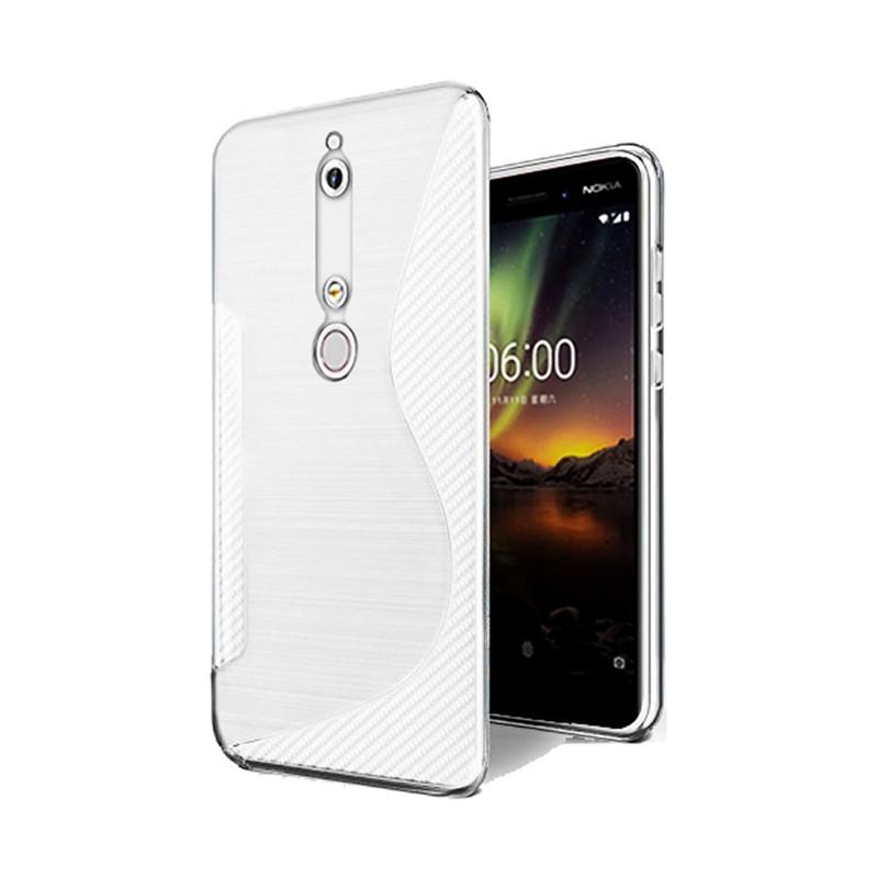 کاور ژله ای مدل Soft Gel Flexible برای گوشی موبایل Nokia 6 (2018)