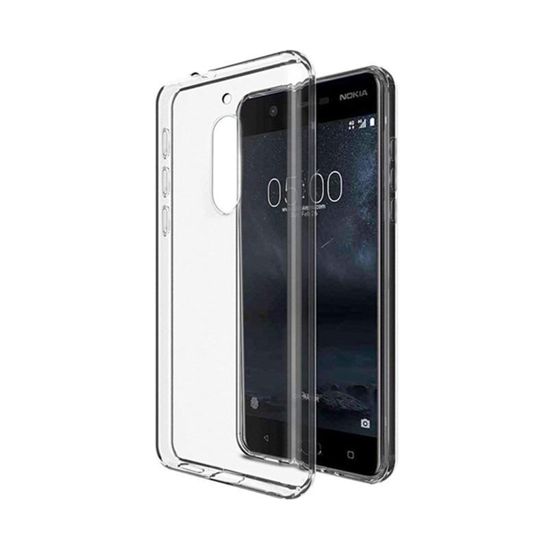 کاور ژله ای مدل Soft Jelly Back برای گوشی موبایل Nokia 5