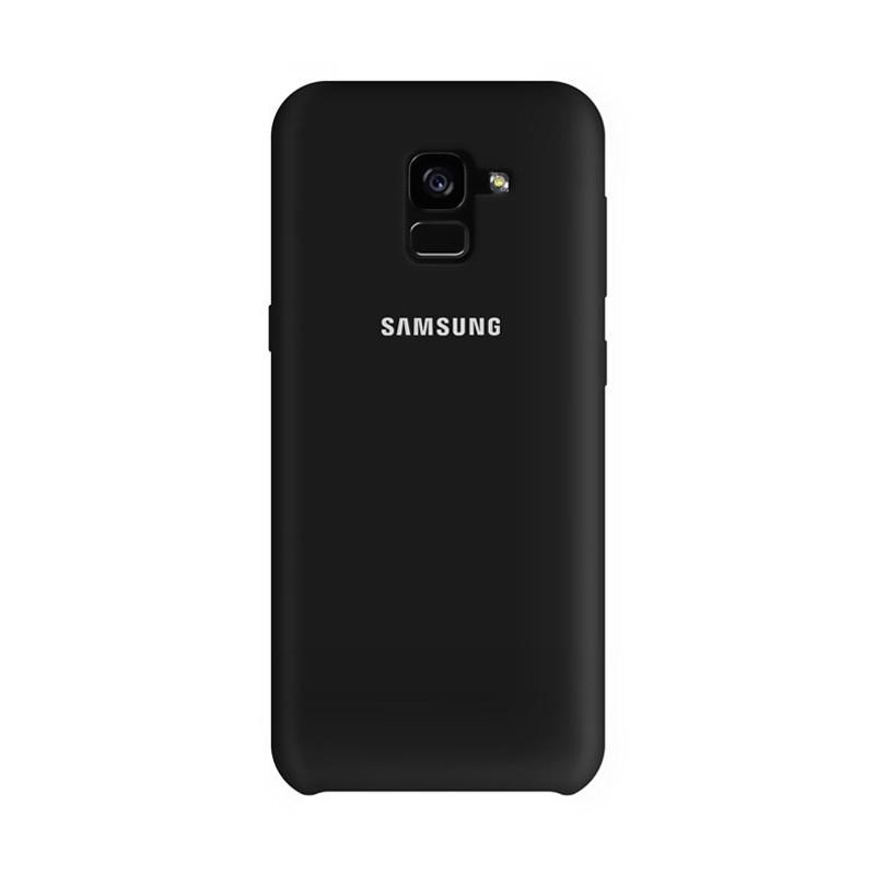 کاور سامسونگ مدل Silicone برای گوشی موبایل Galaxy A8 (2018)