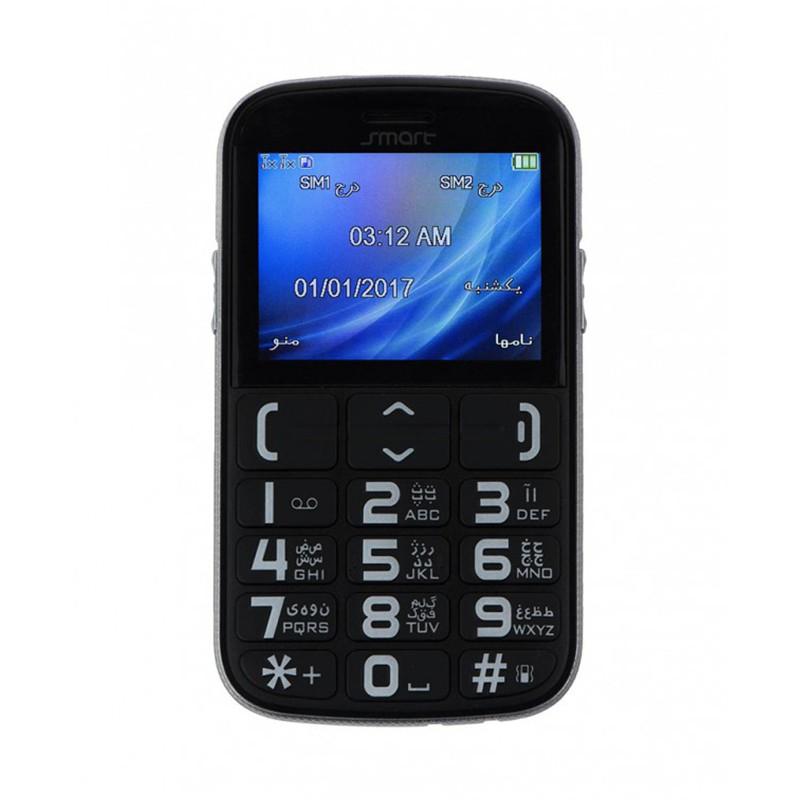 گوشی موبایل اسمارت مدل Easy E2452 دو سیم کارت