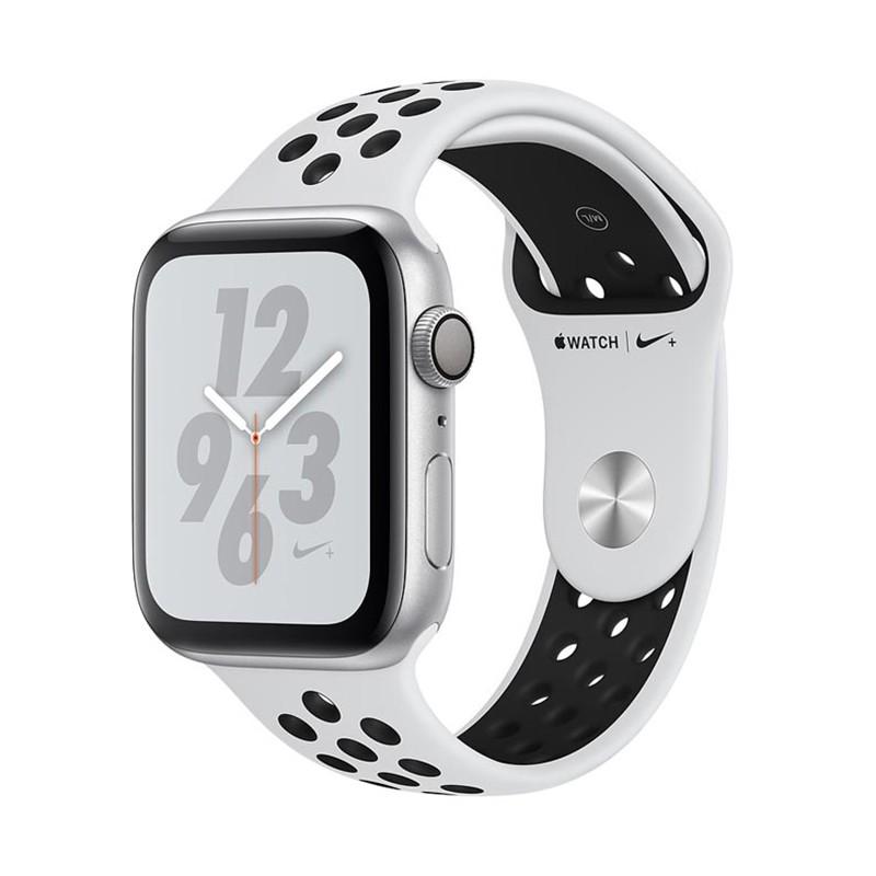 اپل واچ سری 4 مدل Nike Plus 44mm بدنه استیل ضد زنگ به رنگ مشکی با بند سیلیکونی