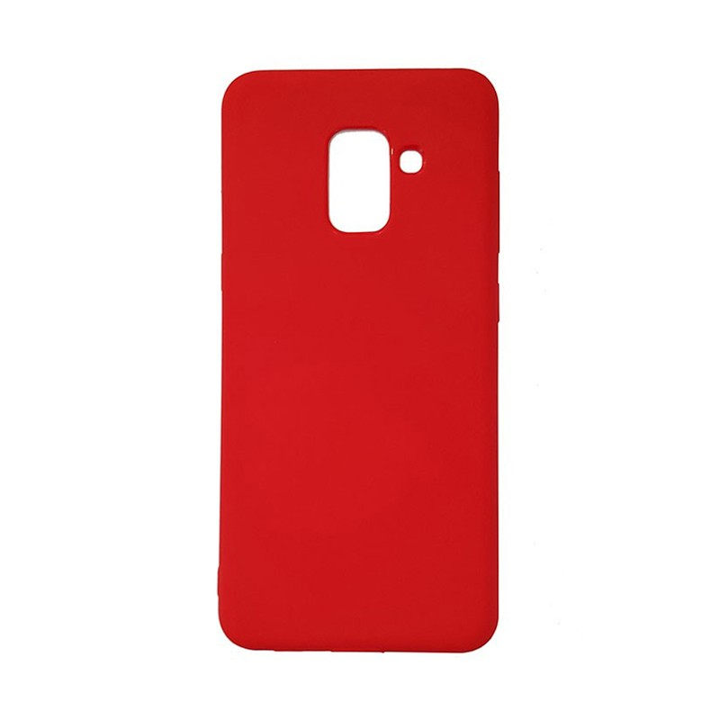 کاور ژله ای مدل رنگی برای گوشی موبایل (2018) Samsung Galaxy A8 Plus