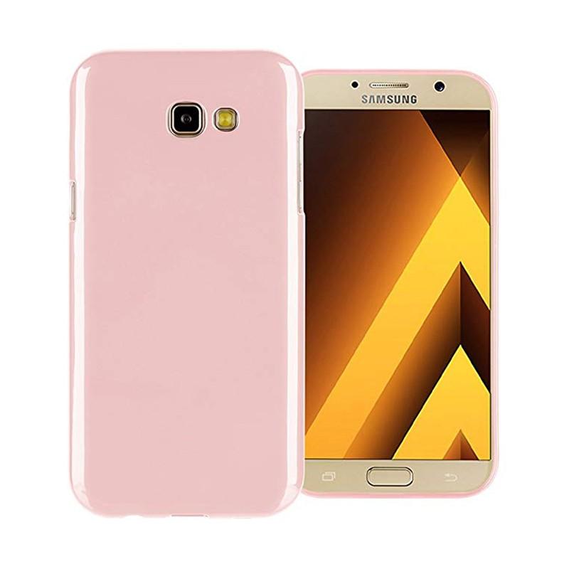 کاور ژله ای مدل رنگی برای گوشی موبایل (2017) Samsung Galaxy A7