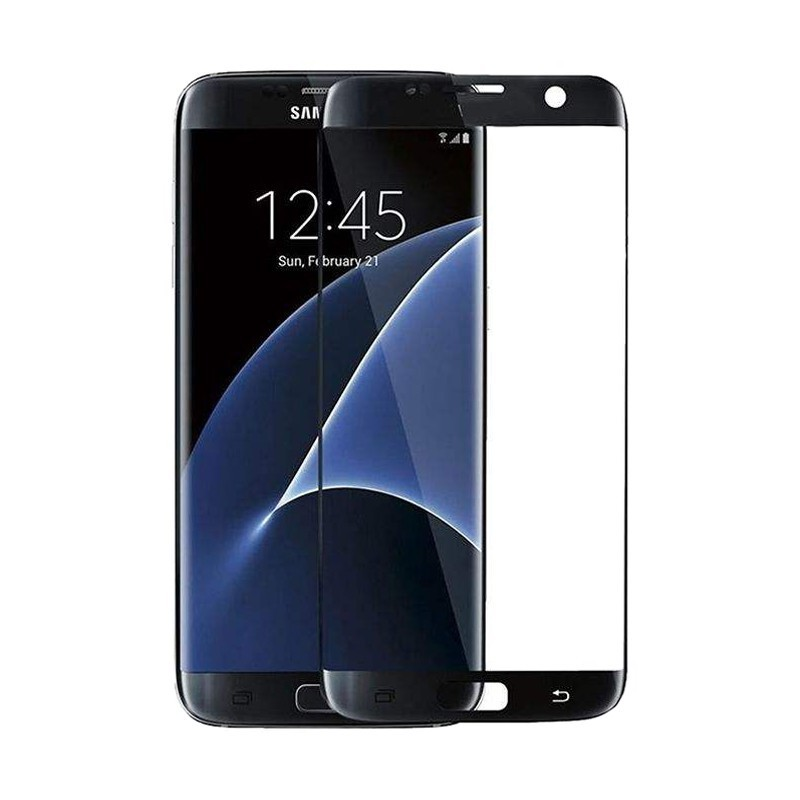 محافظ صفحه نمایش مدل Full Cover برای گوشی موبایل سامسونگ Galaxy S7 Edge