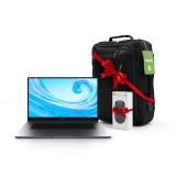 لپ تاپ هوآوی مدل MateBook D15 Ryzen 5 (2020) Boh-WAQ9R + هدیه ماوس و کوله پشتی مخصوص لپ تاپ