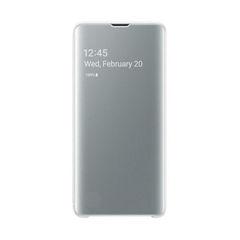 کیف هوشمند مدل Clear View Cover مناسب برای گوشی Samsung Galaxy S10