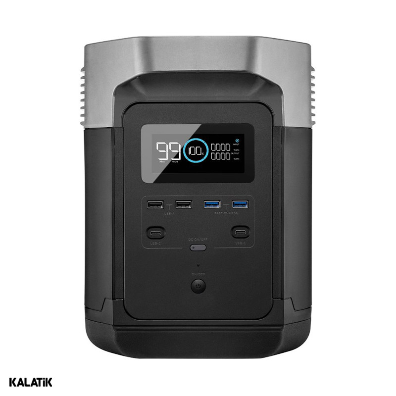 پاور بانک قابل حمل EcoFlow مدل Delta EF3 Pro با ظرفیت 1260 وات ساعت