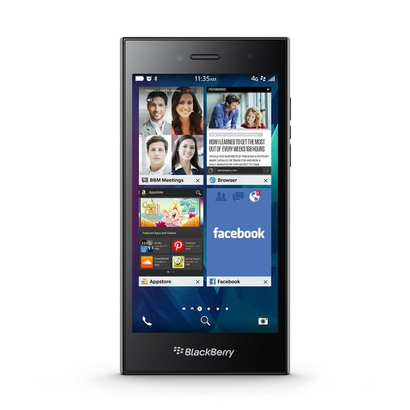 گوشی موبایل بلک بری مدل Leap تک سیم کارت ظرفیت 16 گیگابایت