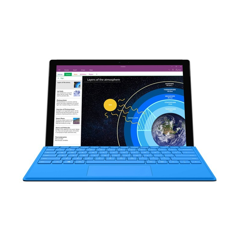 """تبلت مایکروسافت مدل Surface Pro 4 (Core i7, 8GB Ram, 12.3"""") WiFi ظرفیت 256 گیگابایت"""